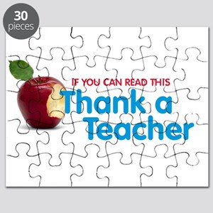 Thank a Teacher Puzzle