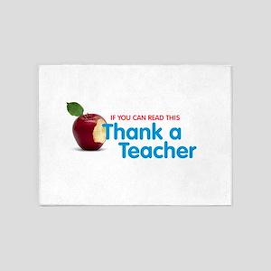 Thank a Teacher 5'x7'Area Rug