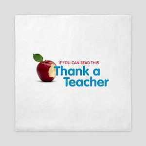Thank a Teacher Queen Duvet