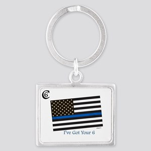 "Citizen 6 ""I've Got Your Back"" Keychains"
