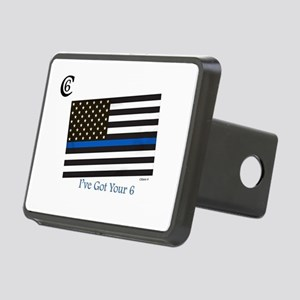 """Citizen 6 """"I've Got Your Back"""" Hitch Cover"""