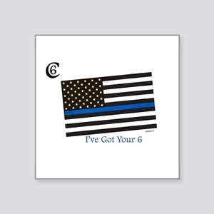 "Citizen 6 ""I've Got Your Back"" Sticker"