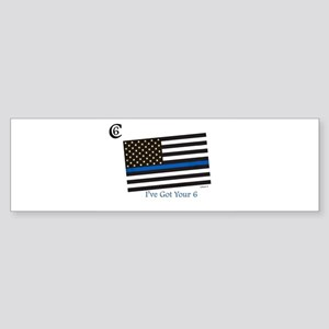 "Citizen 6 ""I've Got Your Back"" Bumper Sticker"
