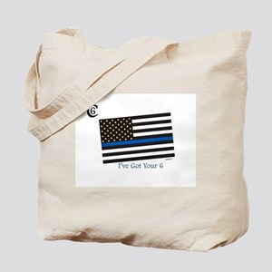 """Citizen 6 """"I've Got Your Back"""" Tote Bag"""