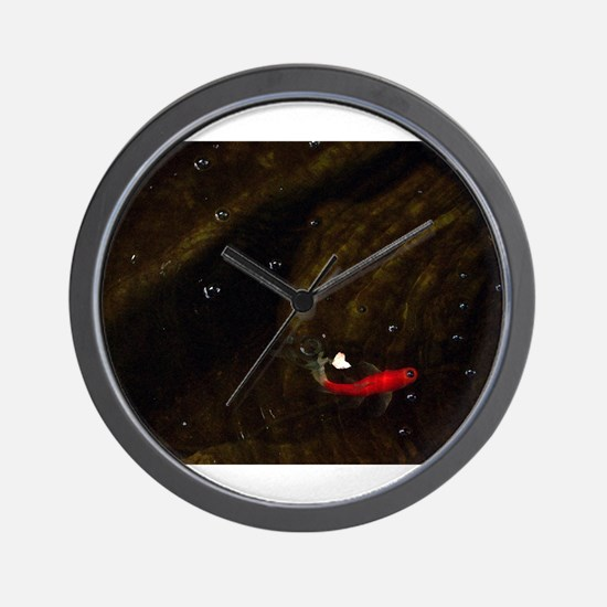 pond fish Wall Clock