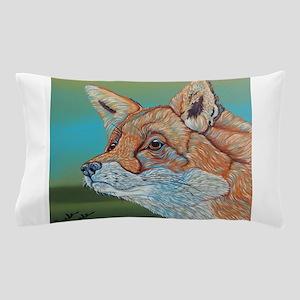 Rainbow Red Fox Pillow Case