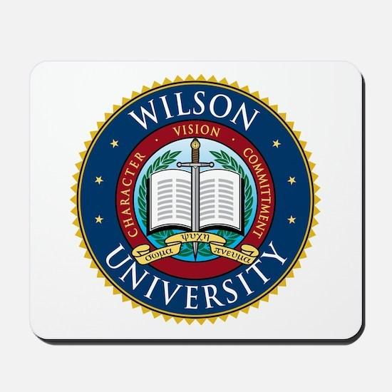 Wilson University Mousepad