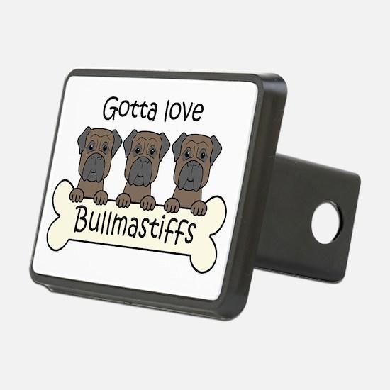 Unique Bullmastiff Hitch Cover