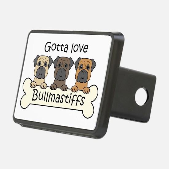 Cute Bullmastiff Hitch Cover