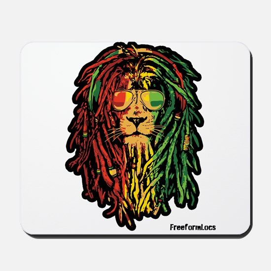 Headphone Lion Mousepad