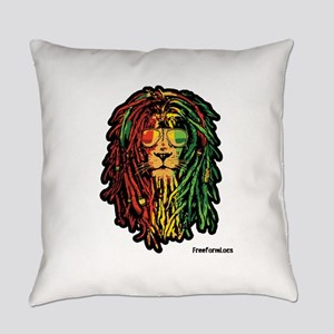 Headphone Lion Everyday Pillow