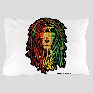 Headphone Lion Pillow Case