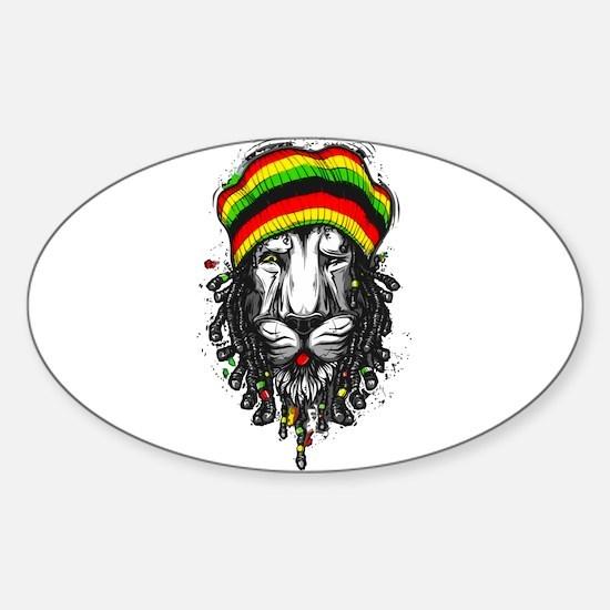 Lion Dread Decal