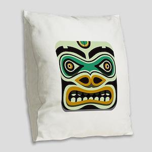 TRIBUTE Burlap Throw Pillow