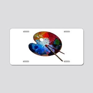 COLORS Aluminum License Plate