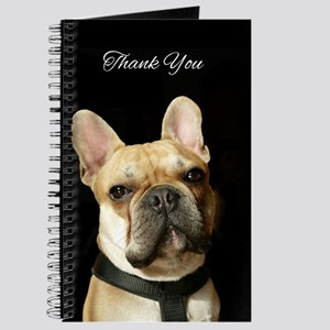 Thank You French Bulldog Journal