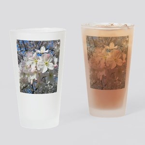 Cherry Blossom Blush Drinking Glass