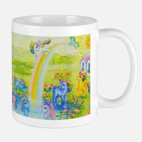 MLP Retro Rainbow Mug