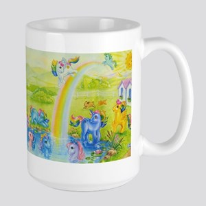 MLP Retro Rainbow Large Mug