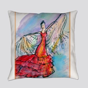 Flamenco dancer, art! Everyday Pillow