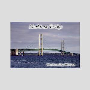 Mackinac Bridge Mackinaw City Magnets