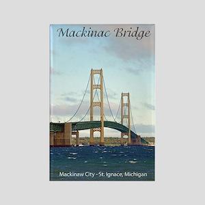 Mackinac Bridge Tall Magnets