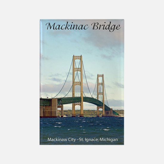 Mackinac Bridge Tall Magnets
