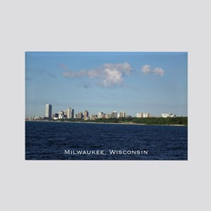 Milwaukee, Wisconsin Skyline Magnets