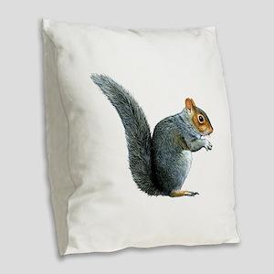 FORAGE Burlap Throw Pillow