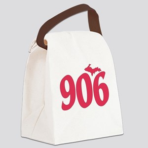 906 Yooper UP Upper Peninsula - P Canvas Lunch Bag