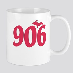 906 Yooper UP Upper Peninsula - Pink - Mug
