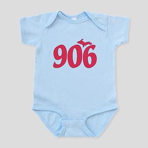 906 Yooper UP Upper Peninsula - Pi Infant Bodysuit