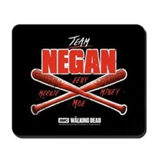 Team Negan Walking Dead Mousepad