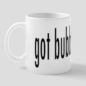 got bubbly? Mug