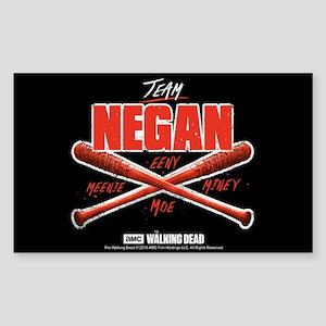 Team Negan Walking Dead Sticker (rectangle)