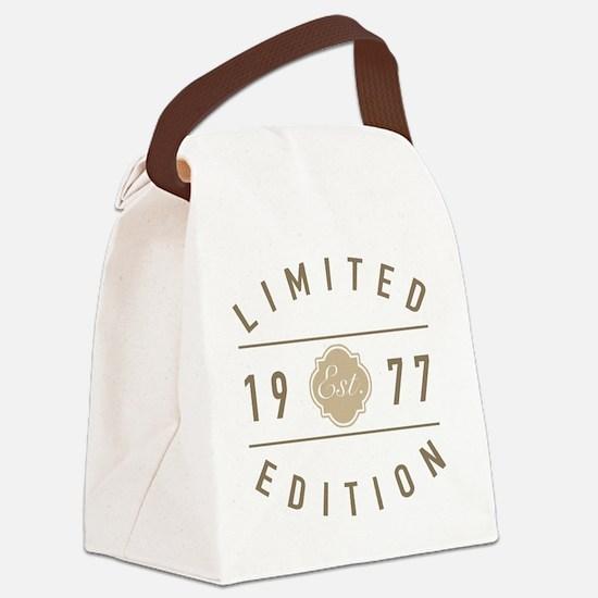 40 year birthday Canvas Lunch Bag
