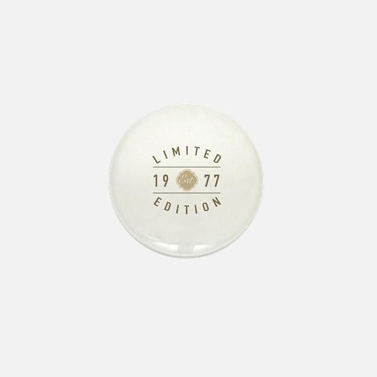 1977 Mini Button