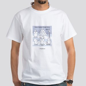Famous Snowmen through History T-Shirt