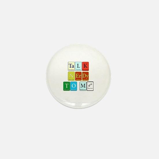 Cute Talk nerdy Mini Button