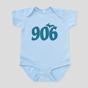 906 Yooper Blue Infant Bodysuit
