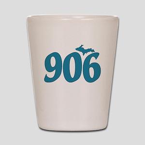 906 Yooper Blue Shot Glass