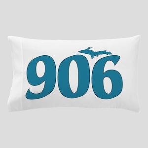 906 Yooper Blue Pillow Case
