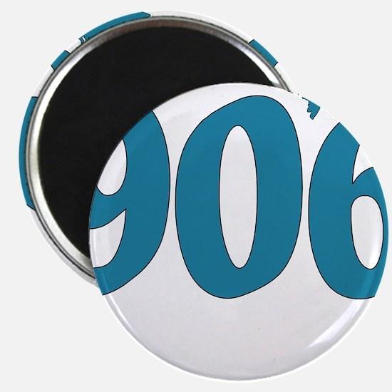 906 Yooper Blue Magnet