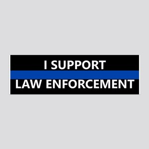 I Support Law Enforcement Wall Decal