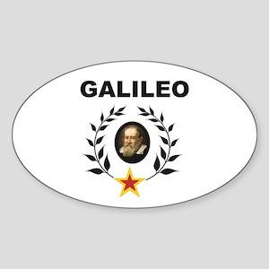 Black branch galileo mark Sticker