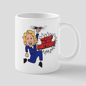 Clinton-Glass Shattered Mug