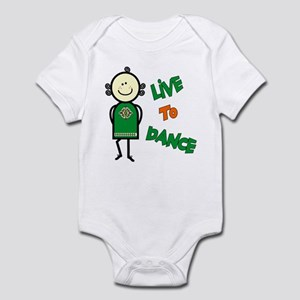 Irish Stepdancer-Live To Dance Infant Bodysuit