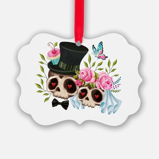 Cute Day of dead Ornament