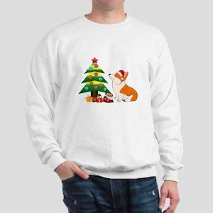 Christmas Corgi Cartoon Sweatshirt