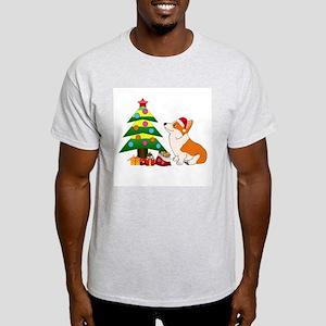 Christmas Corgi Cartoon T-Shirt